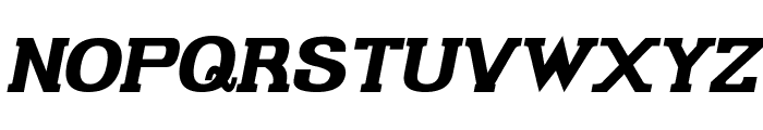 Gabriel Serif Bold Italic Font UPPERCASE