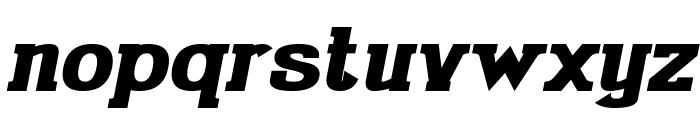 Gabriel Serif Bold Italic Font LOWERCASE
