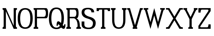 Gabriel Serif Condensed Font UPPERCASE
