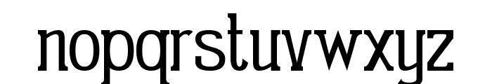 Gabriel Serif Condensed Font LOWERCASE