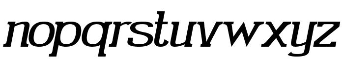 Gabriel Serif Italic Font LOWERCASE
