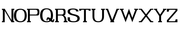 Gabriel Serif Font UPPERCASE