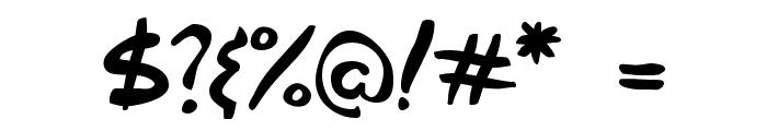 Gabriel Weiss' Friends Font Font OTHER CHARS