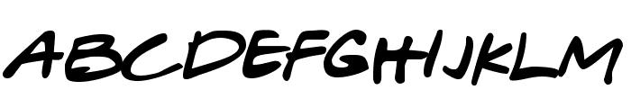 Gabriel Weiss' Friends Font Font LOWERCASE