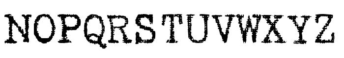 Gabriele Dark Ribbon FG Regular Font UPPERCASE