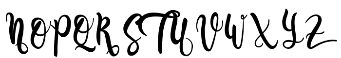 Gadista Font UPPERCASE