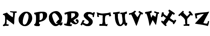 Gadzoox Bold Font UPPERCASE