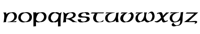 Gaeilge 2 Normal Font LOWERCASE