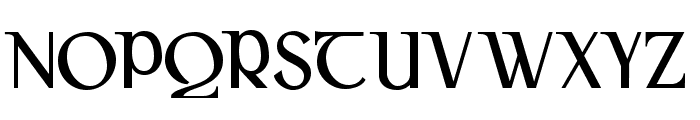 Gaeilge Font UPPERCASE