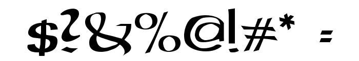 Gael Normal Font OTHER CHARS