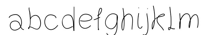 Gaelle203Font Font LOWERCASE
