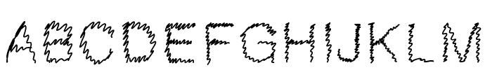 Gaelle307 Font UPPERCASE