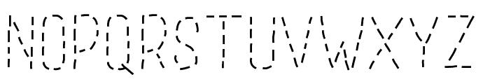 GaelleAbc Font LOWERCASE