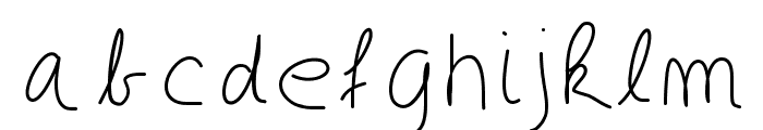 GaelleDEF Font LOWERCASE
