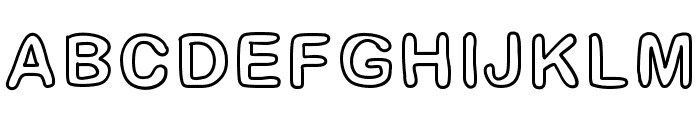 GaelleFont14 Font LOWERCASE