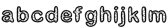 GaelleNumber1 Font LOWERCASE