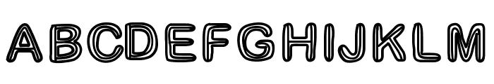 GaelleNumber3 Font UPPERCASE