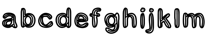 GaelleNumber3 Font LOWERCASE