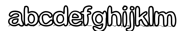 GaelleNumber4 Font LOWERCASE