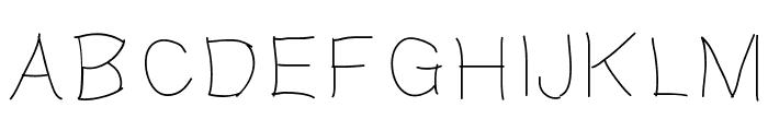 Gaellefine Font LOWERCASE
