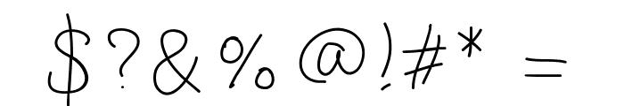 GaelleingFont Font OTHER CHARS