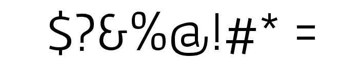 Gafata Font OTHER CHARS