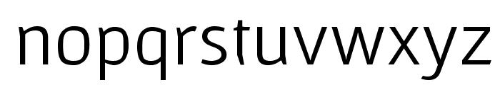 Gafata Font LOWERCASE