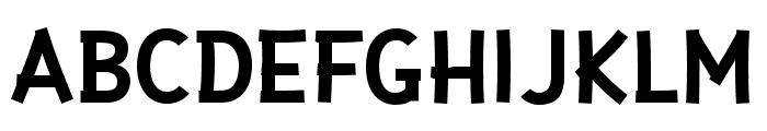 Gaffer Type Display Font UPPERCASE