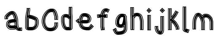 Gaffer's Tape Font LOWERCASE