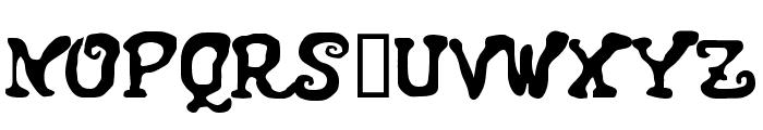 GaiasianM Font UPPERCASE