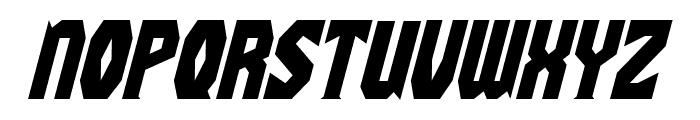 Gaiking Italic Font UPPERCASE