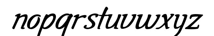 Gala Script Font LOWERCASE