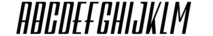 Galah Panjang Bold Italic Font UPPERCASE