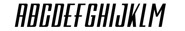 Galah Panjang Bold Italic Font LOWERCASE