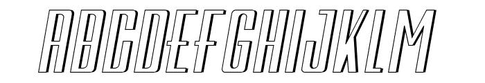 Galah Panjang Italic Font LOWERCASE