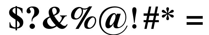 Galatia SIL Bold Font OTHER CHARS