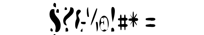 Galaxia Singularity Font OTHER CHARS