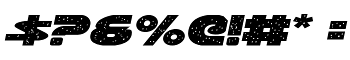 Galaxy 1 Italic Font OTHER CHARS