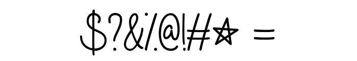 Galaxy Boy Font OTHER CHARS