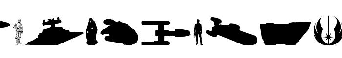 Galaxy Far Far Away Font LOWERCASE