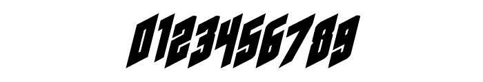Galaxy Force Italic Font OTHER CHARS
