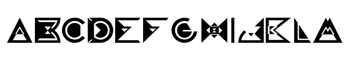 GalaxyVisitors Font LOWERCASE