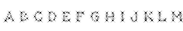 GalaxyfaceAno Font LOWERCASE