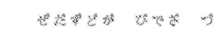 GalaxyfaceHirAno Font UPPERCASE
