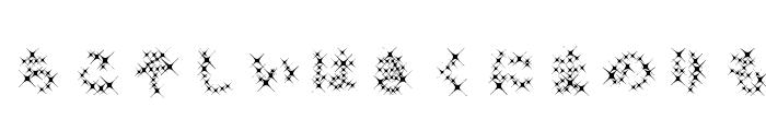 GalaxyfaceHirAno Font LOWERCASE