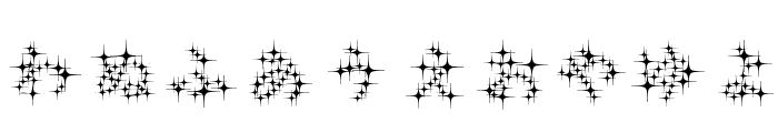 GalaxyfaceHirReg Font OTHER CHARS