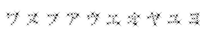 GalaxyfaceKatAno Font OTHER CHARS