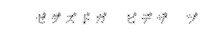GalaxyfaceKatAno Font UPPERCASE