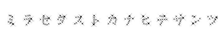 GalaxyfaceKatAno Font LOWERCASE