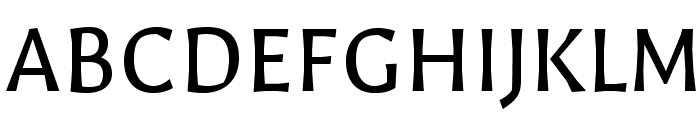 Galdeano-Regular Font UPPERCASE